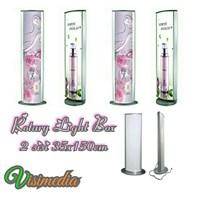 Rotari Light Box 35x150 2sisi - standing Light Box