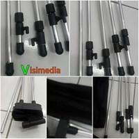 Jual Xbanner Aluminium Silver Adjustable 2