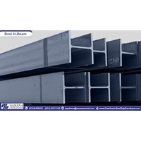 Besi H Beam 200 x 200 x 8 x 12 mm x 12m Murah 5