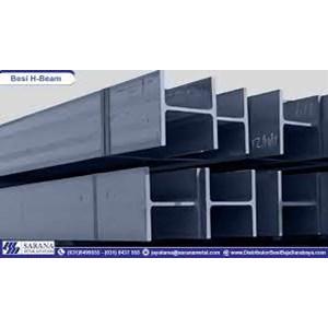 Dari Besi H Beam 350 x 350 x 12 x 19 mm x 12 m 3