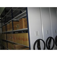 Beli Maxisal Mobile Shelving Rack 4