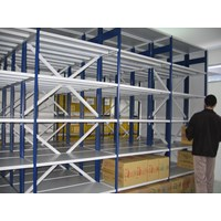 Jual Maxisal Mobile Shelving Rack 2