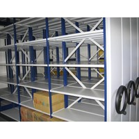 Distributor Maxisal Mobile Shelving Rack 3