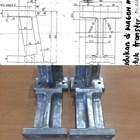 Wagon Holder Alu Cast Materials 1