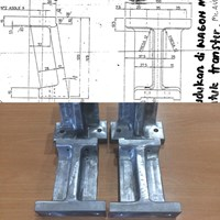 Wagon Holder Alu Cast Materials