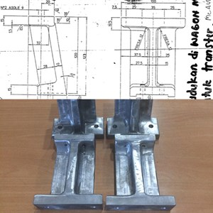 Wagon Holder Cast Alu Materials