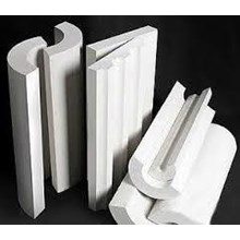 Calcium silicate pipe cover