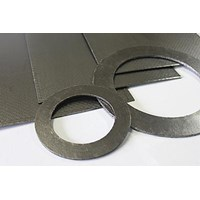 HL-881 Graphite Sheet With Steel Plate - Seals