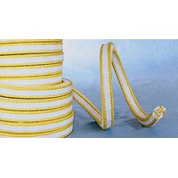 HL-8821 PTFE with Aramid Fiber in Corners Reinforced Braided Packing  1