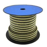 HL-8826 Graphite PTFE with Aramid Fiber in Corners Reinforced Braided Packing 1