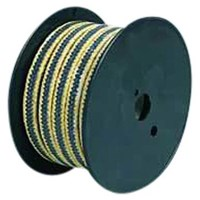 Distributor HL-8826 Graphite PTFE with Aramid Fiber in Corners Reinforced Braided Packing 3