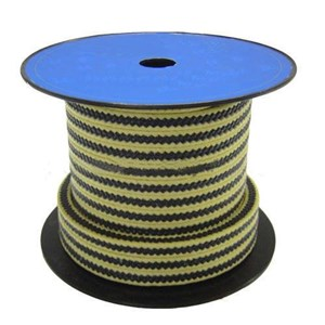 HL-8826 Graphite PTFE with Aramid Fiber in Corners Reinforced Braided Packing