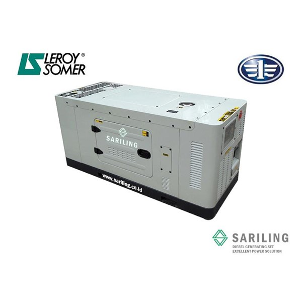 17 Fawde Kva genset Silent Type
