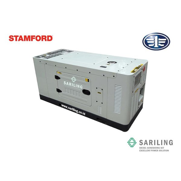 Genset Fawde 28 Kva Silent Type
