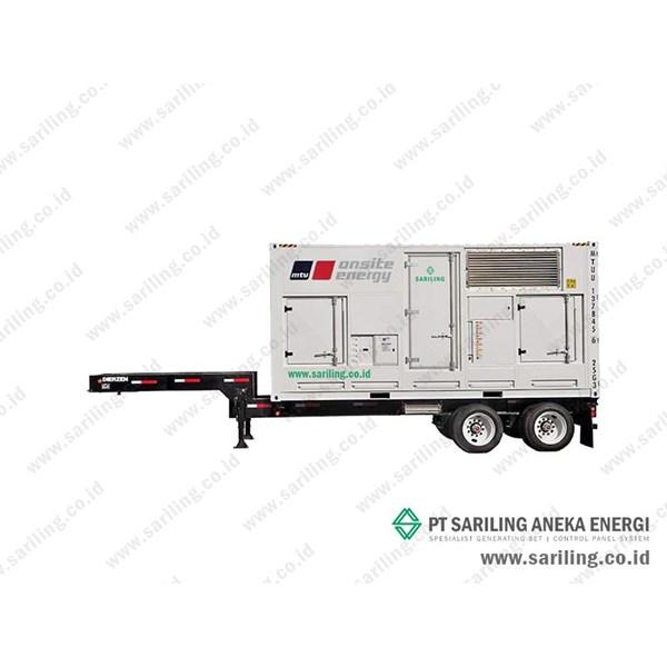 Genset MTU 2000 Kva Trailer Type