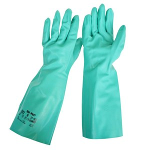 Safety Gloves Solvex 37-165 Chemical Agro Chemical Process 1 Psg