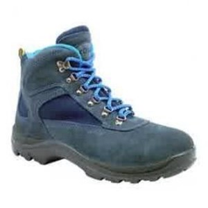 Sepatu Safety Dr Osha President Ankle Boot Blue Suedee Tipe 3238