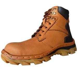 Sepatu Safety Murah Kulit Asli Merk Dozzer Dr217t1