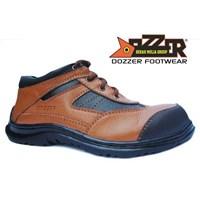 Sepatu Safety Casual Kulit Asli Murah Merk Dozzer 502 1