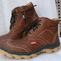 Sepatu Safety Ozero Gs 41 Coklat 1