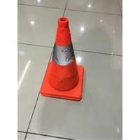 Floor Sign Traffic Cone 40Cm Krisbow 1