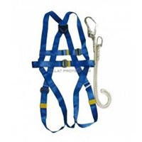 Safety Harness With Lanyard Krisbow Kw1000438 1