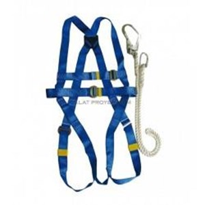 Safety Harness With Lanyard Krisbow Kw1000438