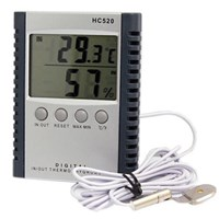 Termometer New Model Hc520 Hygrometer Thermometer Digital