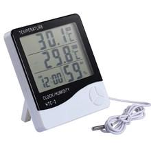 Termometer Digital Hygrometer Htc-2 Ruangan