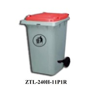Tempat Sampah 240L Dustbin 100% Recycle Ztl-240H -11P1r