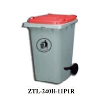 Tempat Sampah 240L Dustbin 100% Recycle Ztl-240H -