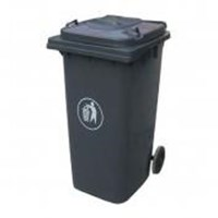 Tempat Sampah Ztl-120A-9R  120L Dustbin 30% Recycle Dustbin Dalton