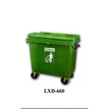 Tempat Sampah Lxd-660 Green Dalton Dustbin