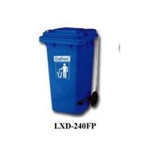 Tempat Sampah Lxd-240F Blue Dustbin Dalton