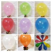 Jual Balon Tiup bulat warna warni
