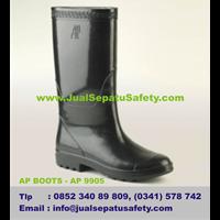 AP BOOTS Shoes PROYEK Seri AP 9905 Asli