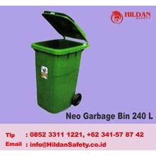 Tempat Sampah MASPION Tipe Neo Garbage Bin 240 L Plastik