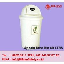 MASPION Tempat Sampah Appolo Dust Bin 60 LTRS
