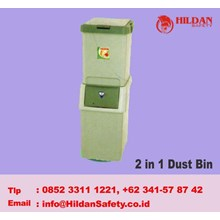 Tempat Sampah 2 in 1 Dust Bin MASPION