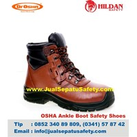 Dr.OSHA Ankle Boots PU – Distributor Murah Sepatu Safety