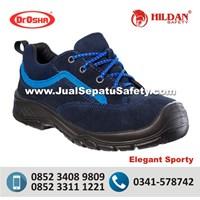 Sepatu Safety Dr.OSHA Elegant Sporty CASUAL Trendy SUEDE