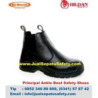 Sepatu Safety DR.OSHA Principal Ankle Boot PU untuk Proyek