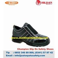 Sepatu Safety DR.OSHA Champion Slip On PU Original