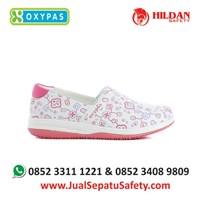 Sepatu Perawat Medis Rumah Sakit OXYPAS SUZY-FLR