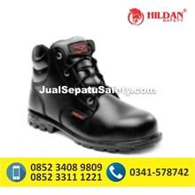 Sepatu Safety Semi Boot CHEETAH 2180 Bertali