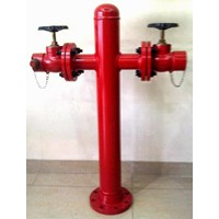 Jual Hydrant Pillar Two Way  Machino (LOKAL)