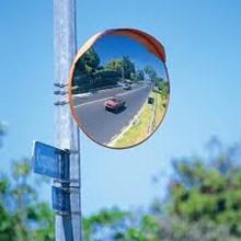 TECHNO Convex Mirror Cermin Tikungan Jalan 80cm Outdoor LP 0047A
