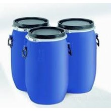 Drum Plastik Biru  OPEN TOP 150 LITER