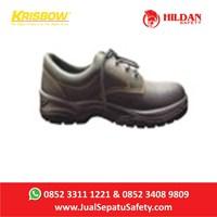 Grosir Sepatu Safety Krisbow Hercules 4 inch Terlengkap