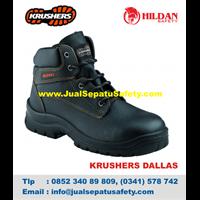 Sepatu Safety KRUSHERS DALLAS Asli